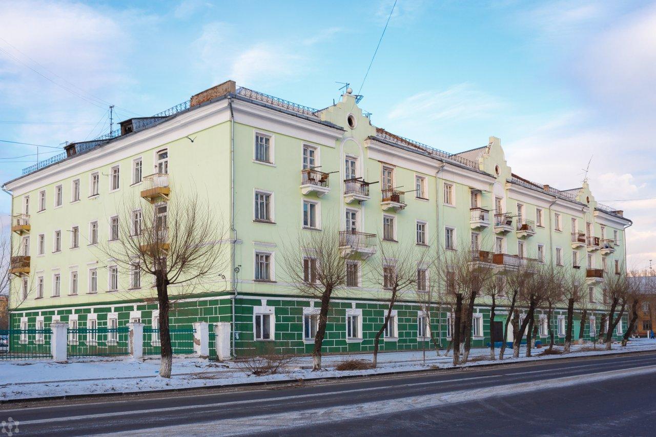 Общежитие СФУ №12
