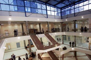 Холл библиотеки
